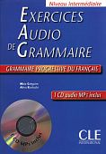 Exercices audio de grammaire Intermediare - Livre + CD audio MP3