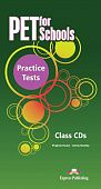 PET for Schools Practice Tests Class Audio CDs (set of 5)