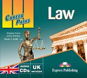 Career Paths: Law Audio CDs (set of 2)