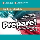 Cambridge English Prepare! Level 3 Class Audio CDs (2) (Лицензия)