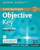 Objective Key (Second Edition) Student's Book with answers with CD-ROM with Testbank