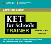KET for Schools Trainer Audio CDs (2) (Лицензия)