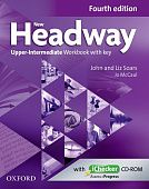 New Headway Upper-intermediate Fourth Edition Workbook + iChecker with Key