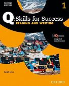 Q: Skills for Success Second Edition Reading and Writing 1 Student Book with IQ Online
