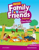 Family and Friends Second Edition Starter Class Book and multiROM Pack