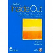 New Inside Out Beginner Workbook wihout key + Audio CD Pack