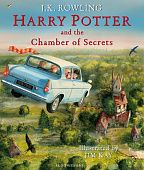 Harry Potter and the Chamber of Secrets (illustrated ed) - Hardback