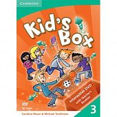 Kid's Box Level 3 Interactive DVD PAL with Teacher's Booklet