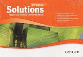 Solutions Second Edition Upper-Intermediate Online Workbook - Card with Access Code