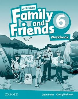 Family and Friends Second Edition 6 Workbook