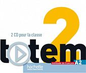 Totem 2 (A2) CD audio pour la classe (Лицензия)