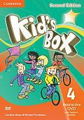 Kid's Box Updated Edition Second Edition 4 Interactive DVD (NTSC) with Teacher's Booklet