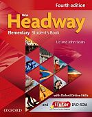 New Headway Elementary Fourth Edition Student's Book with iTutor and Oxford Online Skills