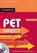 PET Direct Student's Pack (Student's Book with CD ROM and Workbook without answers)
