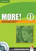 More! Level 1 Teacher's Resource Pack with Testbuilder CD-ROM