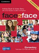 face2face (Second Edition) Elementary Testmaker CD-ROM and Audio CD