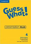 Guess What! Level 4 Presentation Plus DVD-ROM