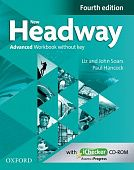 New Headway Advanced Fourth Edition Workbook + iChecker without Key