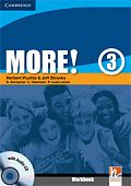 More! Level 3 Workbook with Audio CD