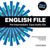 English File Third Edition Pre-Intermediate Class Audio CDs