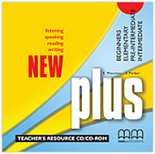 New Plus Beginner / Intermediate Teacher's Resource CD/CD-Rom