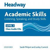 New Headway Academic Skills: Listening, Speaking, and Study Skills Level 2 Class Audio CDs