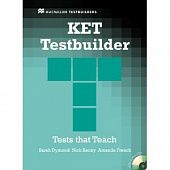 KET Testbuilder: Student's Book without key + Audio CD Pack