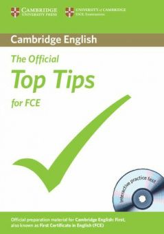 The Official Top Tips for FCE 2nd Edition Paperback with CD-ROM