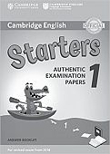Cambridge English (for Revised Exam from 2018) Starters 1 Answer Booklet