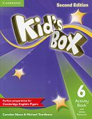 Kid's Box Second Edition 6 Activity Book with Online Resources