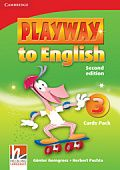 Playway to English (Second Edition) 3 Cards Pack