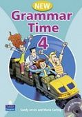 New Grammar Time 4 Student's Book with Multi-ROM