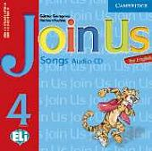 Join Us for English 4 Songs Audio CD (Лицензия)