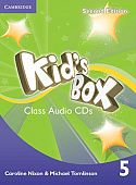 Kid's Box Second Edition 5 Class Audio CDs (3) (Лицензия)