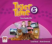 Tiger Time 5 Class Audio CDs
