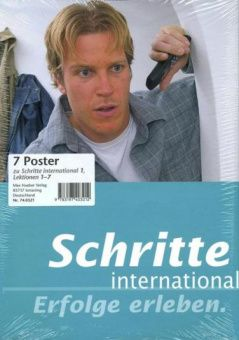 Schritte international 1 Poster 7, Lektionen 1-7