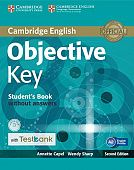 Objective Key (Second Edition) Student's Book without answers with CD-ROM with Testbank