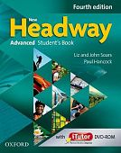 New Headway Advanced Fourth Edition Student's Book and iTutor Pack