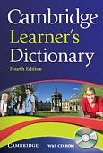 Cambridge Learner's Dictionary 4th Edition Paperback with CD-ROM