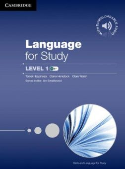 Language for Study 1 Student's Book with Downloadable Audio