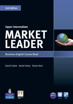 Market Leader 3rd Edition Upper-Intermediate Coursebook and DVD-ROM Pack