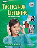 Tactics for Listening Second Edition Basic Student Book with Audio CD