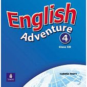 English Adventure 4 Class CD