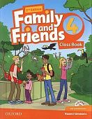Family and Friends Second Edition 4 Class Book and multiROM Pack