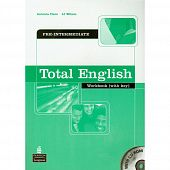 Total English Pre-Intermediate Workbook with key and CD-ROM