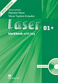 Laser Third Edition B1+ Workbook with Key and CD Pack