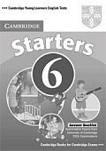 Cambridge Young Learners English Tests Starters 6 Answer Booklet