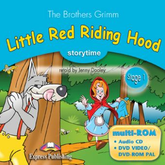 Stage 1 - Little Red Riding Hood Multi-ROM (Audio CD / DVD Video & DVD-ROM PAL)