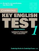 Cambridge Key English Test 1 Self Study Pack (Student's Book with answers and Audio CDs (2))