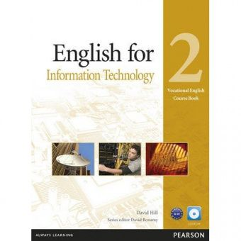 Vocational English Level 2 (Pre-intermediate) English for IT Coursebook (with CD-ROM)
